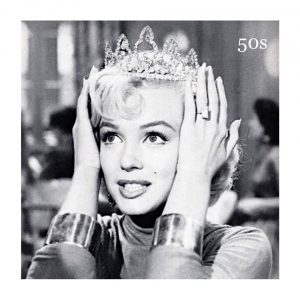Marilyn Monroe. El icono de belleza más importante de la época. Cejas arqueadas.