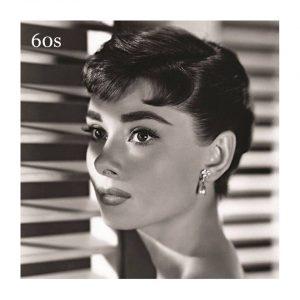 Audrey Hepburn. La naturalidad de sus cejas fue inspiración para muchas mujeres en la época.